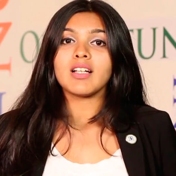 Vibhuti Desai, Athena School of Management MBA ambassador