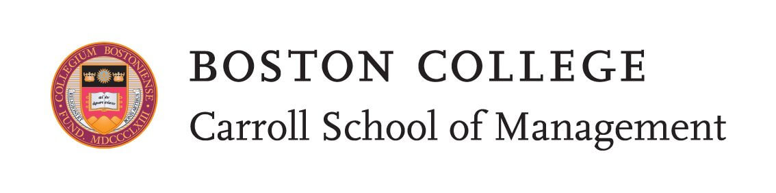 Boston College Carroll School of Management logo