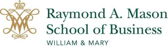 Raymond A. Mason School of Business, College of William Mary logo