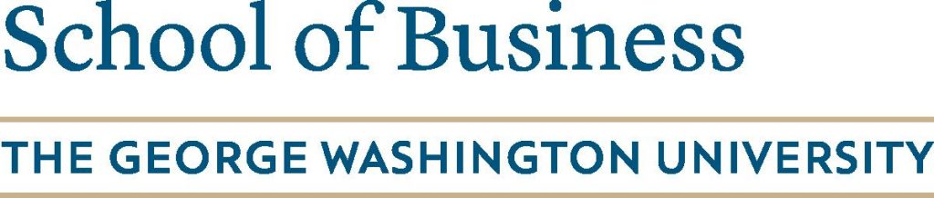 George Washington University School of Business logo