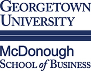 Georgetown University, McDonough School of Business logo