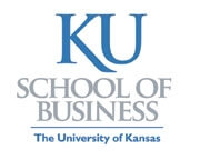 KU School of Business, The University of Kansas logo