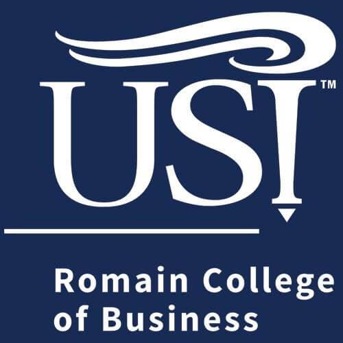 Romain College of Business logo