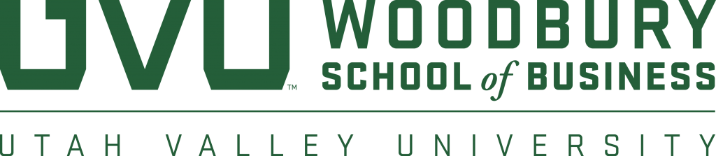 Utah Valley University, Woodbury School of Business logo