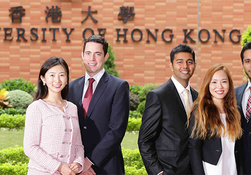 HKU The University of Hong Kong MBA students