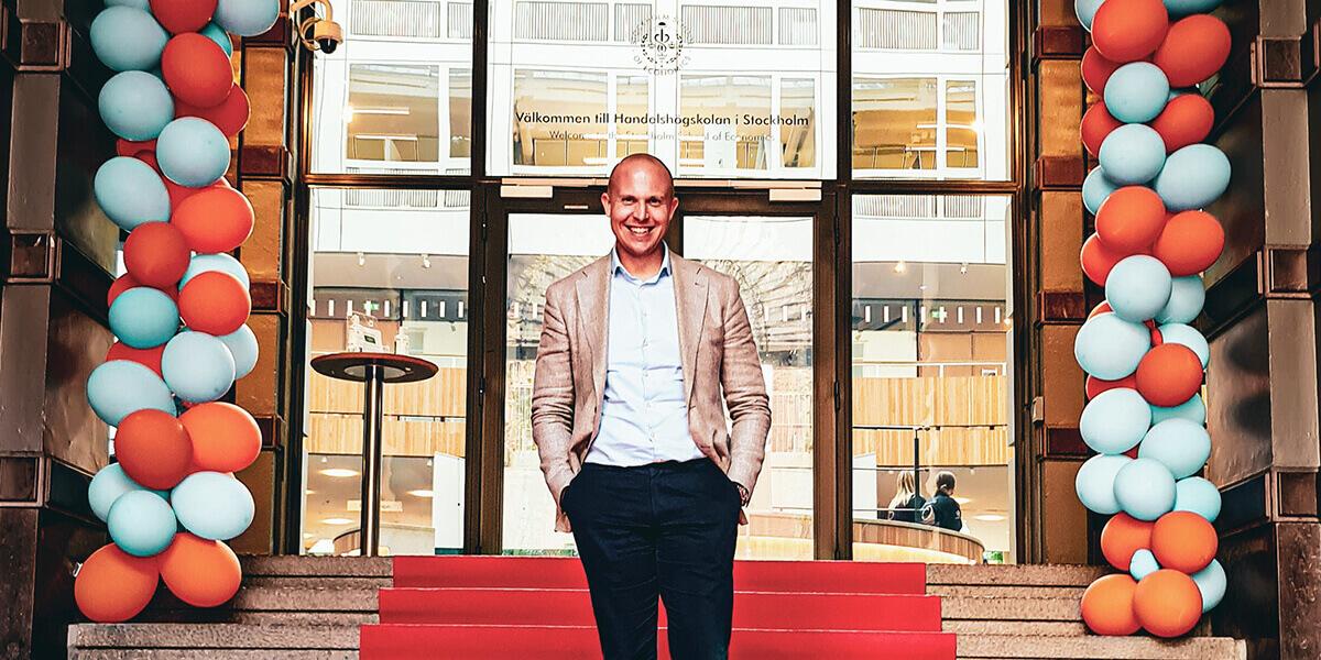Paul Seimann, SSE Stockholm MBA ambassador