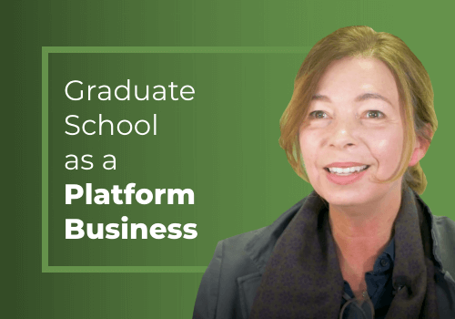 Why we should see education as a platform business