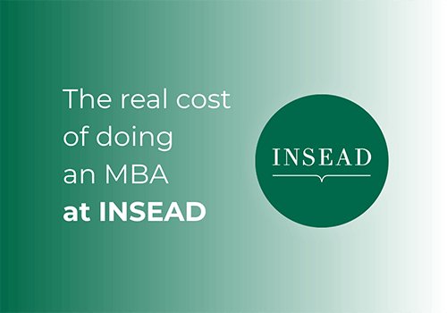 How much does the INSEAD MBA really cost?