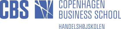 Copenhagen Business School CBS logo